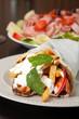 Greek Gyro and Antipasto Salad