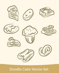 doodle cake set