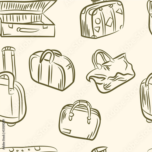 doodle cases set .Seamless pattern