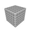 3D Cubes - Magnets