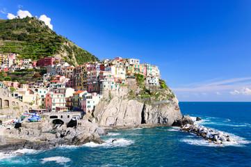 Manarola town of Cinque Terre National Park, Italy
