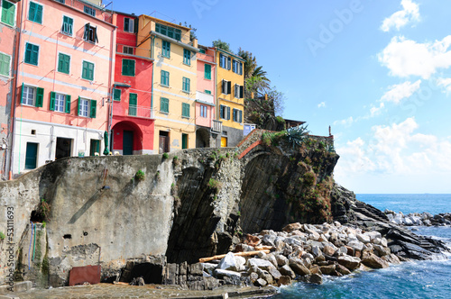 Riomaggiore - one of the cities of Cinque Terre, Italy