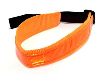 Collar naranja reflectante para mascotas