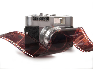 Film strip and camera