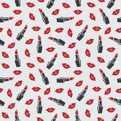 Lips and lipstick