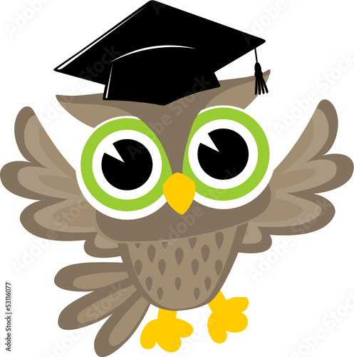 happy owl graduation