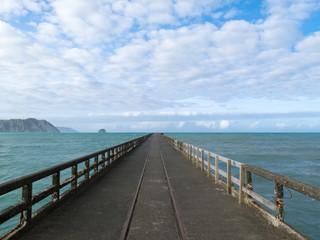 Tolaga Bay Wharf  the longest pier of New Zealand