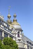 Grands Magasins Boulevard Haussmann poster