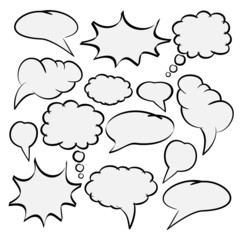 Speech Bubbles (II)