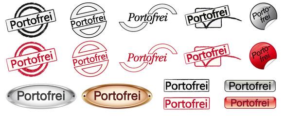 Buttonset Portofrei