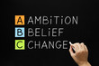 Ambition Belief Change