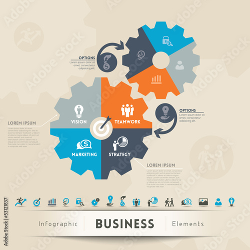 Business Concept Graphic Element