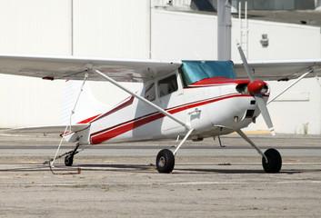 small tailwheel plane
