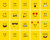 New metro smiley faces
