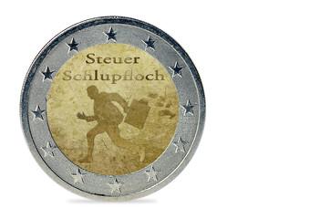 Steuerschlupfloch - Münze
