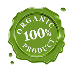 Organic Product Wax Seal