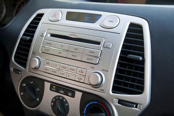 Car Stereo & Air Conditioning Controls
