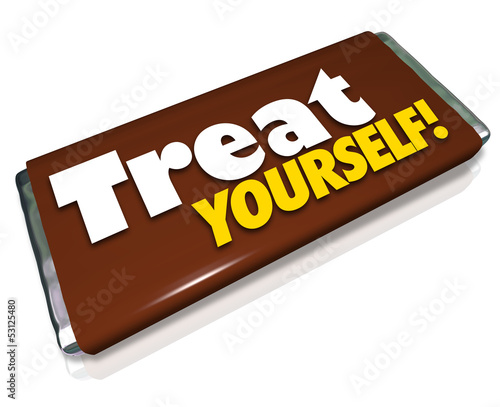 Treat Yourself Chocolate Candy Bar Indulgence