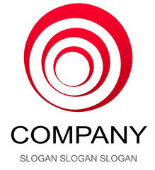 Business logo -red