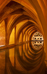 Alcazar Queen's bath, Seville , Andalucia
