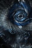 Abstract texture background with spirals and whirls