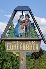 Lautenbach Ortsschild