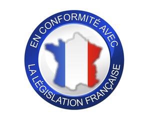 En conformité avec la législation française