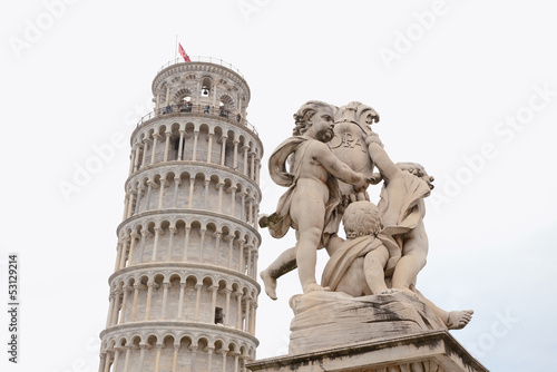 canvas print picture Leanning Tower of Pisa 1