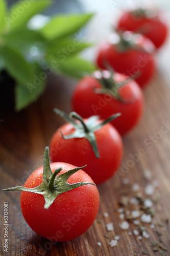 Tomatenreihe