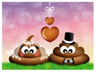 poop in love