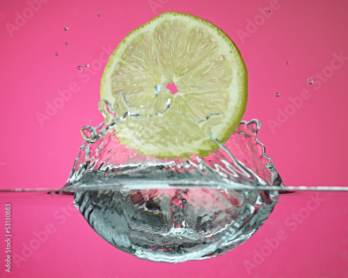 Lemon on Water
