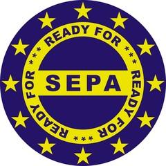 Ready for SEPA blau