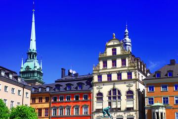 Stockholm down town