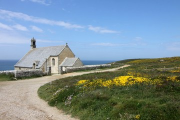 chapelle saint they,pointe du van,bretagne,cap sizun