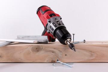 Arbeitsgeräte eines Zimmermanns