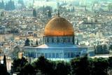 La mosquée Al Aqsa avec le Dôme du Rocher à Jérusalem