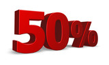 fifty per cent