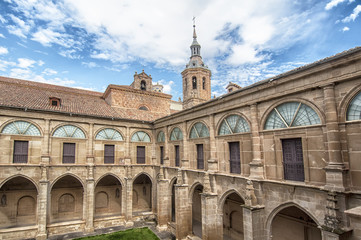Monastery of  San Milln de Yuso in La Rioja,Spain