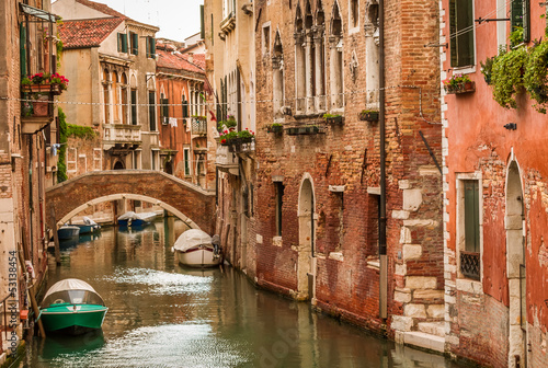 Historic houses of the Grand Canal in Venice - 53138454