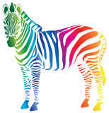color palette zebra (cmyk)
