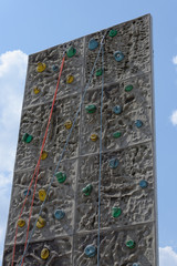 Outdoor Kletterwand