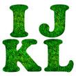 Green grass font