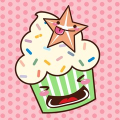CupCake Kawaii 01