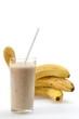Leinwandbild Motiv Bananashake