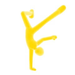 dance yellow