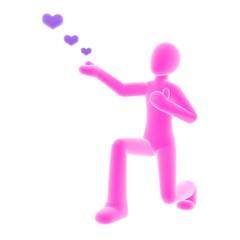 propose pink