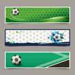 banner soccer design