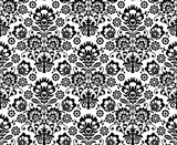 Seamless floral polish pattern - ethnic background - 53151093