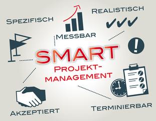 SMART Projektmanagement, keywords, Ziele, deutsch
