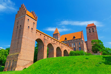 Kwidzyn castle and cathedral in Poland